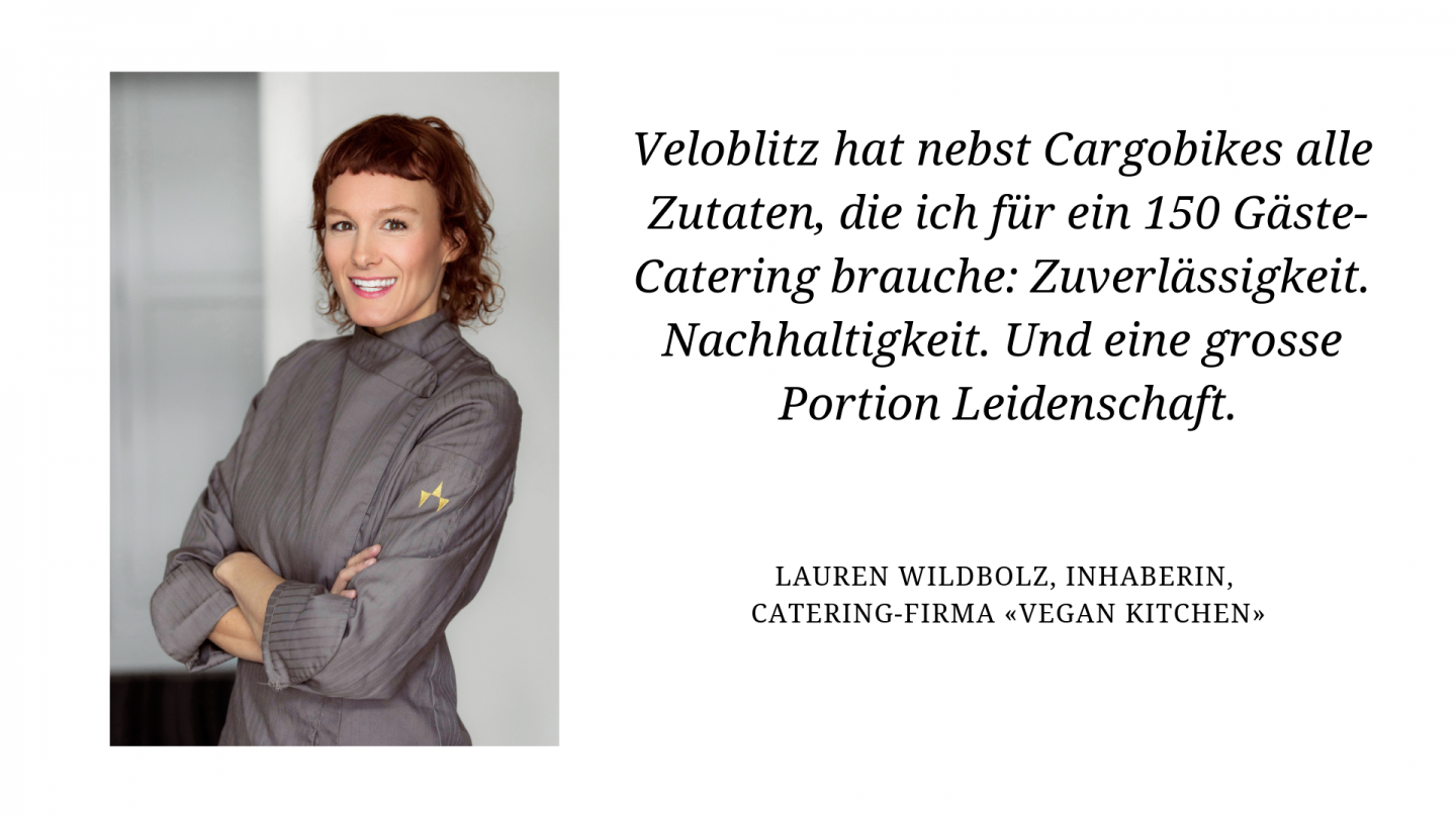 Lauren Wildbolz Inhaberin vegan kitchen